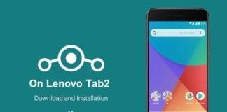 Install Lineage OS on Lenovo Tab 2
