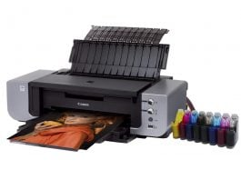 Troubleshooting, service and maintenance for CISS printers